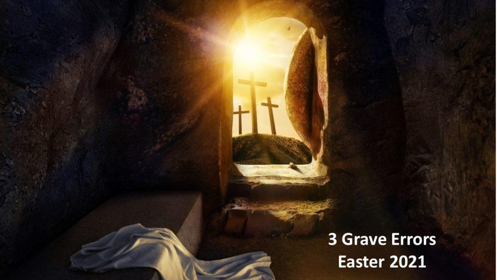 Three Grave Errors Image